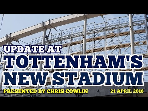 UPDATE AT TOTTENHAM'S NEW STADIUM