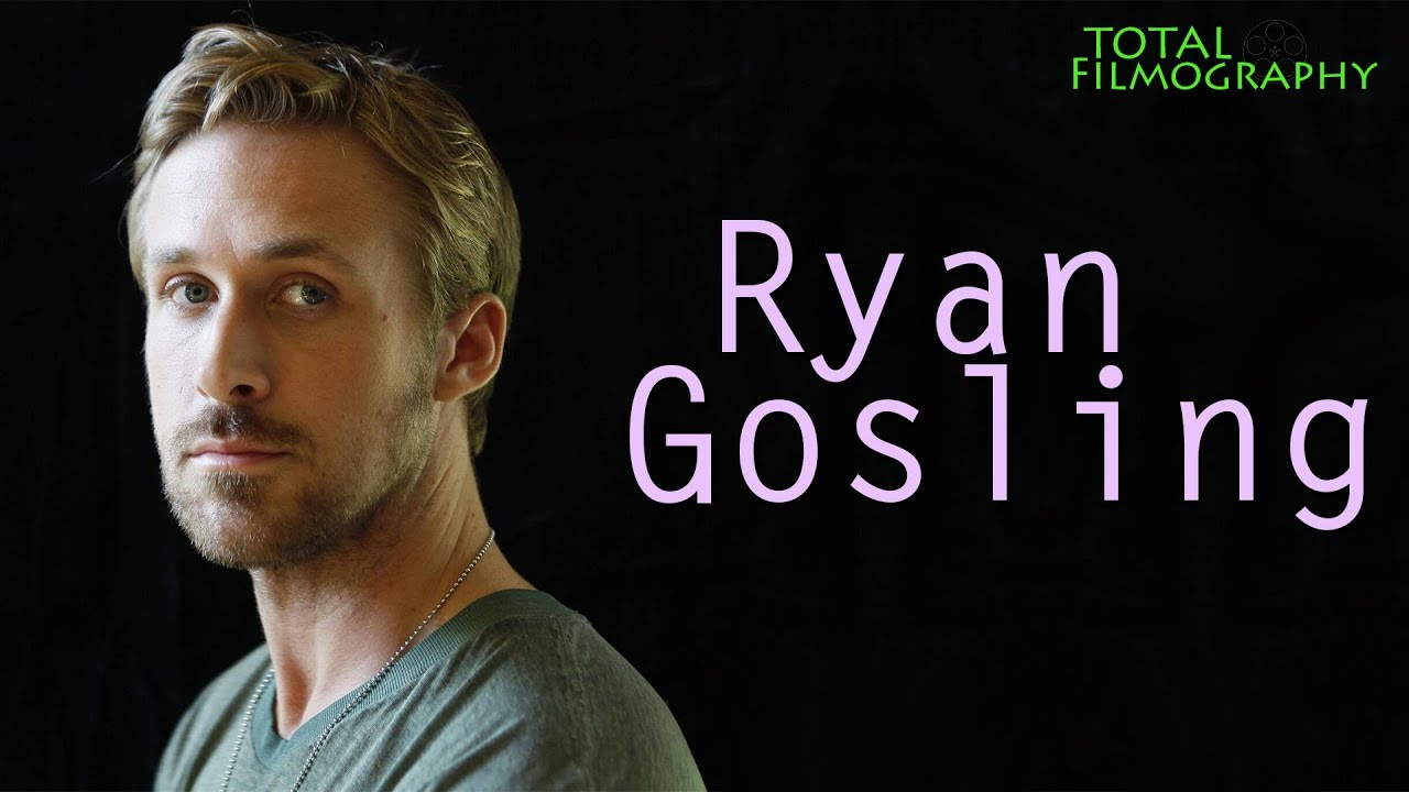 Ryan Gosling | EVERY movie through the years | Total Filmography | Disney Channel Blade Runner 2049