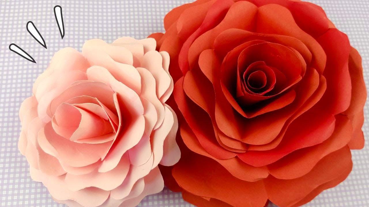 Diy Flor De Papel Gigante Decore Sua Festa Com Flores Gigantes Ider Alves