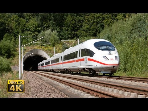 Feel the 300km/h - Germany ICE High speed trains - Frankfurt