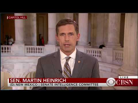 Heinrich On CBS To Discuss Bipartisan Bill To Secure Elections