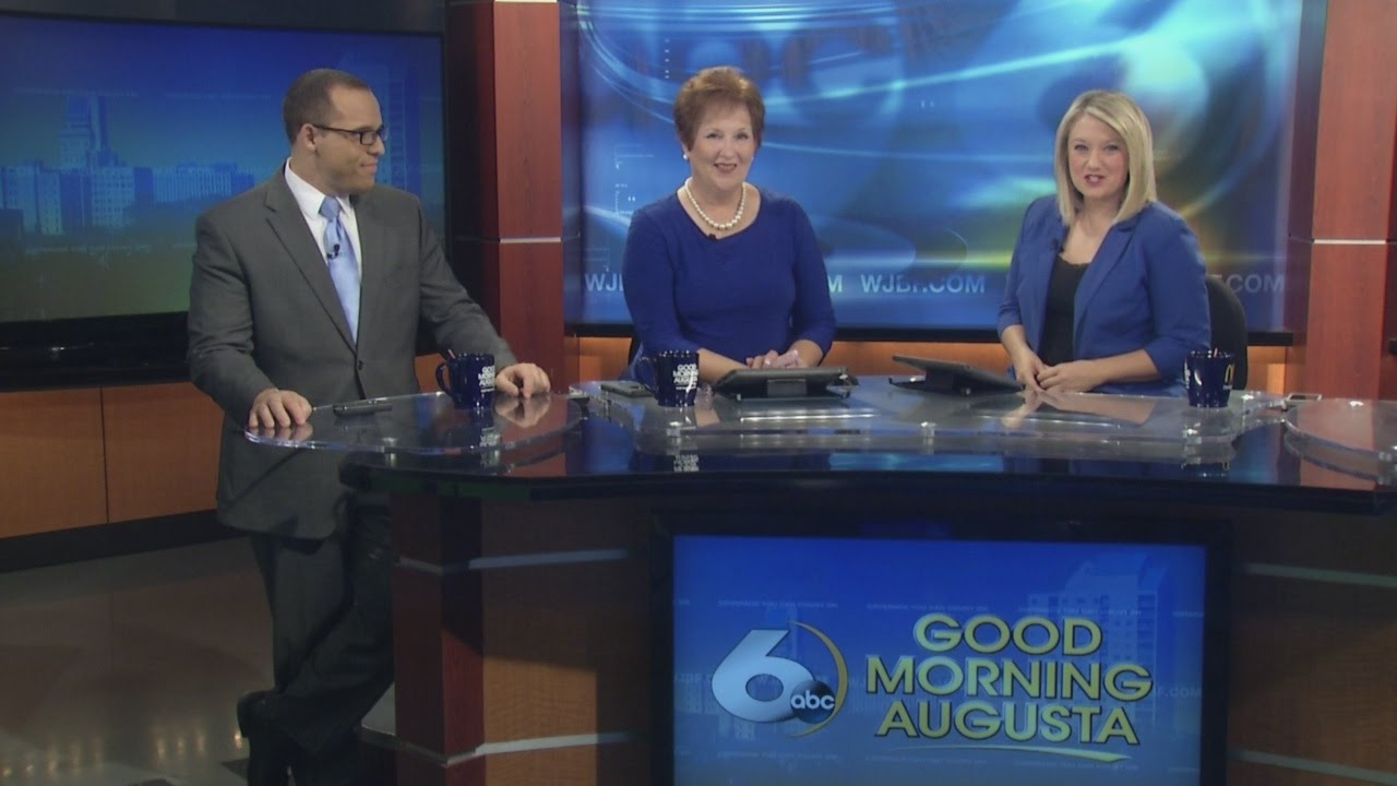 Good Morning Augusta Anchors Wear Blue In Support Of Upcoming Memorial Day Run