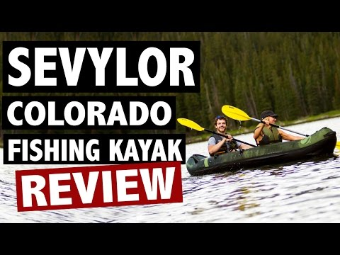 Sevylor Colorado Kayak Review – 2 Person Fishing Kayak