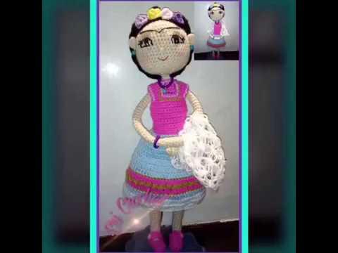 Amigurumis De Frida Kahlo : Frida kahlo elegir uno sólo amigurumis originales