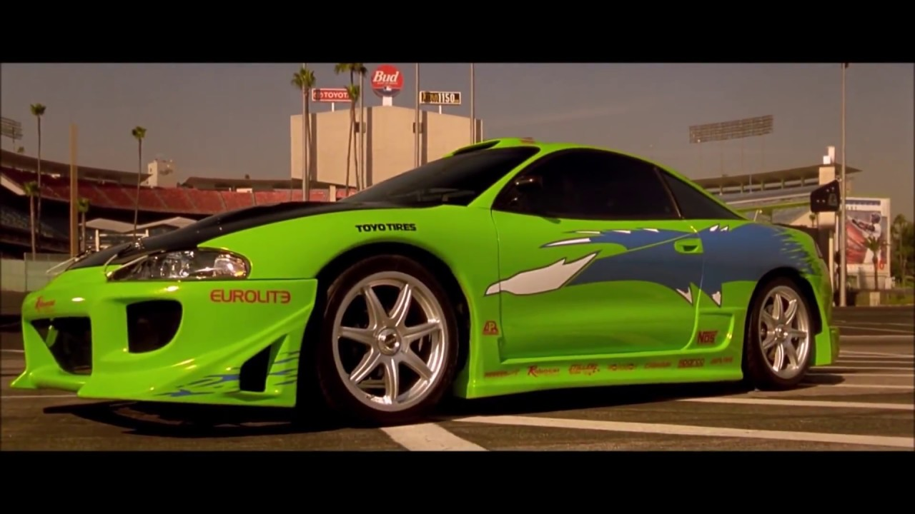Fast And Furious Opening Scene Eclipse 1080hd Car Info Youtube