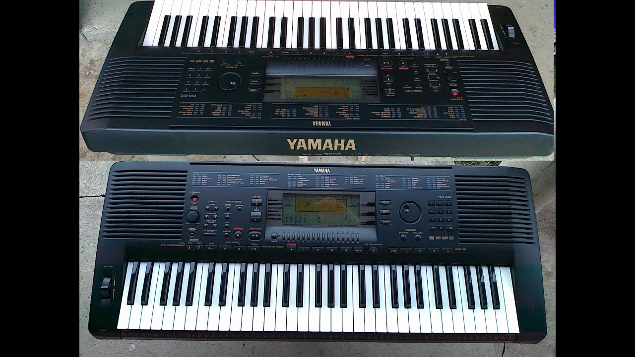 Yamaha psr 630 youtube for Yamaha psr ew