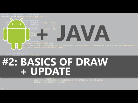 Android Studio 2D Game #2 - Basics Of Draw + Update