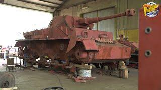 Bringing A German Panzer IV Back To Life