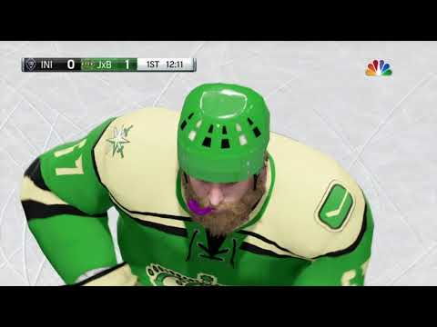 NHL 18 Playing RANK #1 club in the world!!!