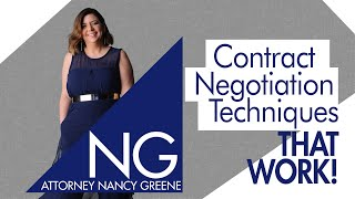 Why Effective Negotiation Means Acting First | Contract Negotiation Techniques That Work