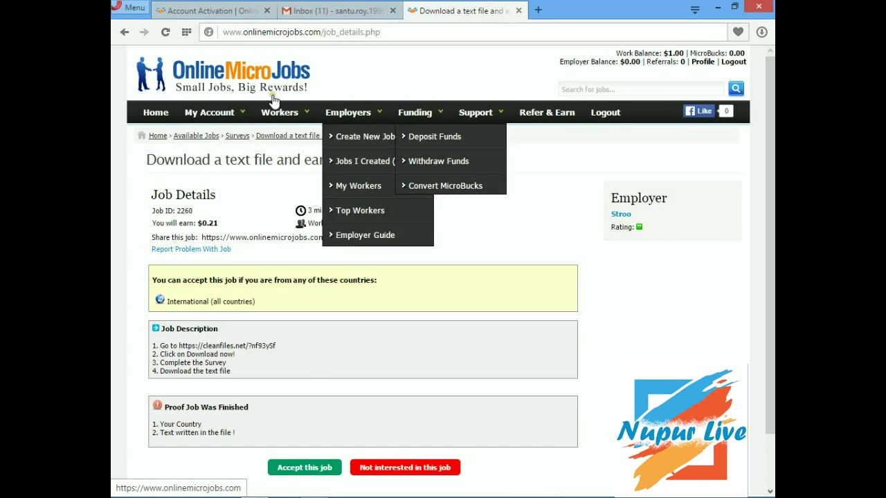 How To Make Money Online Fast Sing In Microjobs And Start Work