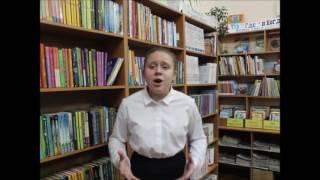 Страна читающая — Ия Вековцева читает произведение «Баллада о Матери» А. Д. Дементьевa