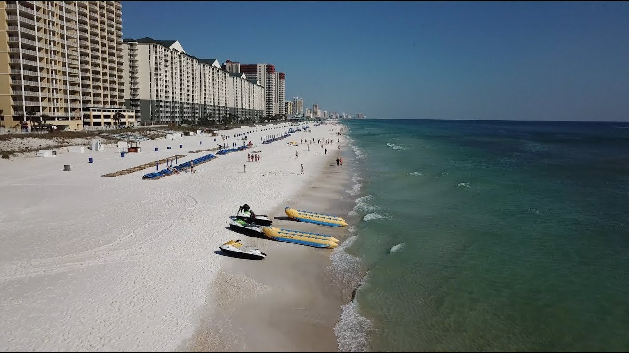 Panama City Beach Drone Footage 2018 You