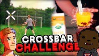CROSSBAR CHALLENGE MED KLAM STRAF! - FODBOLD M/ MHOEJSLEV & HUNTER