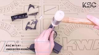KSC M11A1 GBB SMG Takedown & Reassemble Guide