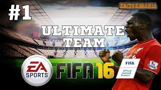 Amatööri Pelaa FIFA 16 Ultimate Team #1 - Ei Taidolla Vaan Tuurilla!