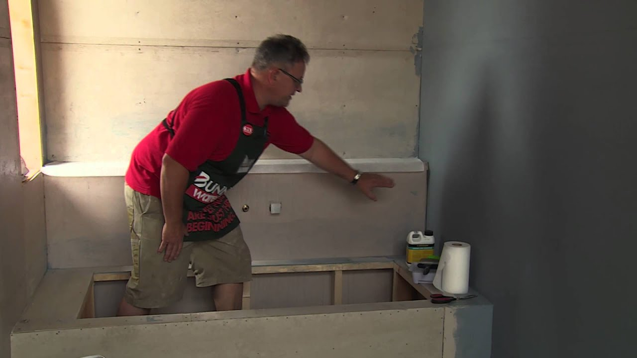 How To Waterproof A Bathtub - DIY At Bunnings - YouTube