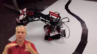 Python ev3dev - 04 Analog Sensors - 03 InfraredSensor