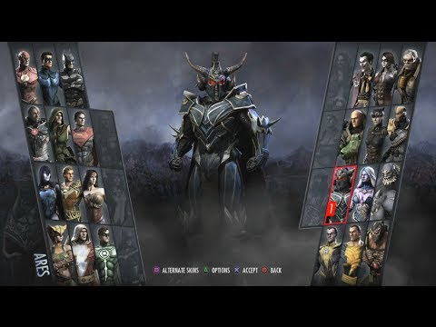 Injustice: Gods Among Us Arcade #16- Ares