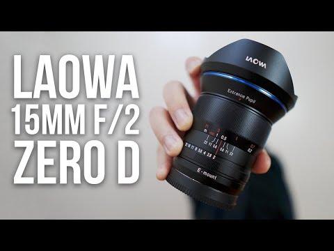 An IMPRESSIVE Wide Angle Manual Focus Lens for Sony Alpha! Laowa 15mm f/2 Review! a7RIII a7RII a7SII
