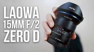 Вражаючий ширококутний ручне фокусування об'єктива для Sony Альфа! Laowa 15мм F/2 дає огляд! a7RIII a7RII a7SII
