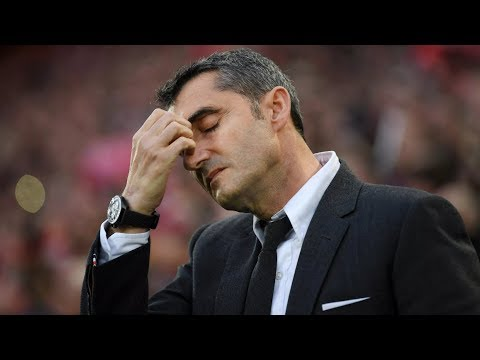 ERNESTO VALVERDE MUST BE SACKED AS COACH OF BARCELONA
