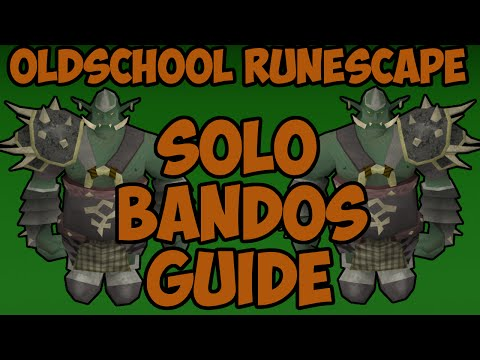 Oldschool Runescape - Solo Bandos Godwars Guide | 2007 Bandos Solo Guide