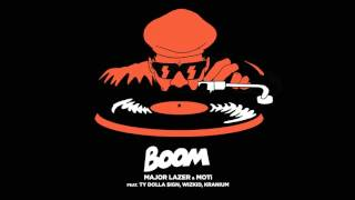 Major Lazer & MOTi - Boom (Feat. Ty Dolla $ign, Wizkid, & Kranium)(OFFICIAL AUDIO // MAJOR LAZER & MOTi - BOOM (FEAT. TY $ SIGN, WIZKID, KRANIUM) ☮® PEACE IS THE MISSION (EXTENDED) ®☮ OUT NOW ..., 2015-11-27T06:16:54.000Z)