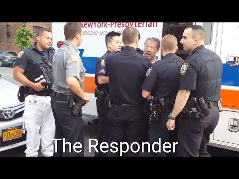 [NYPD] SUPERVISOR ARRESTING DISTURBED MAN