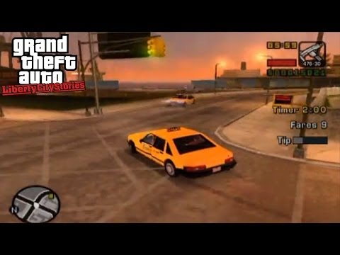 Taxi Driver - GTA: Liberty City Stories Side-Mission