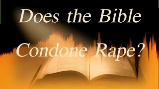 Does the Bible Condone Rape? The correct answer thumbnail