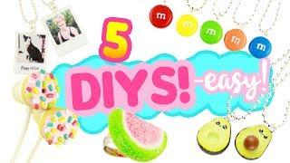 5 EASY DIY's - Fun Clay Crafts Compilation!