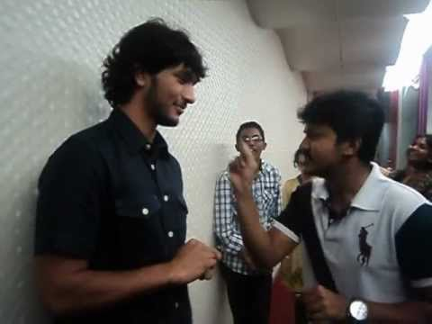 Kadal Actor Gowtham Karthik For The First Time Dances and laughs his heart out At Suryan FM Studios!