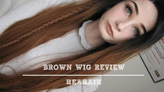 Cute Brown Ombre Synthetic Wig - HeaHair Wig Review (Deutsch)