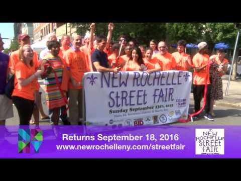 The fourth annual New Rochelle Street Fair is scheduled for Sept. 18.