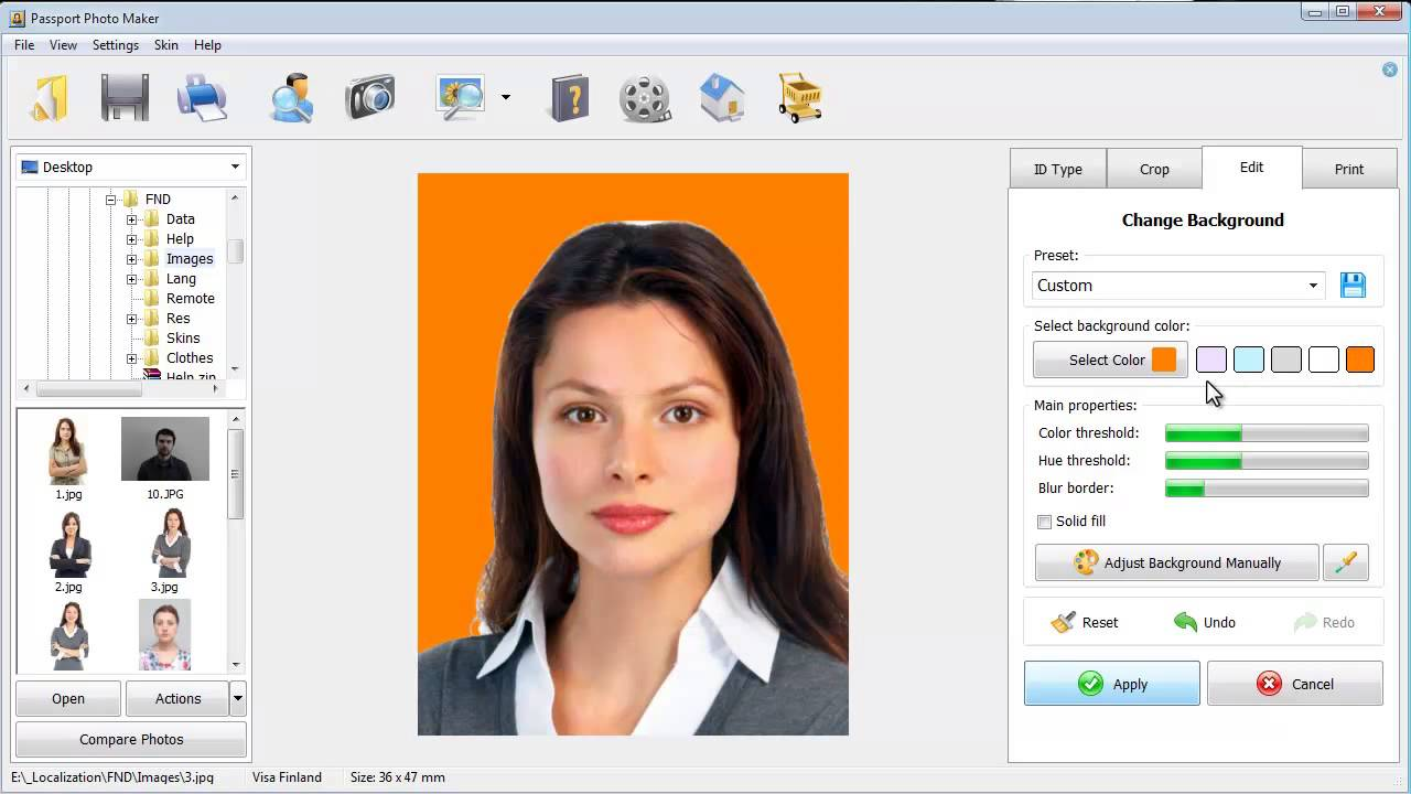 id photo maker for home and office youtube