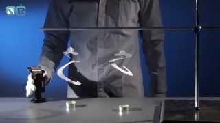 Бумажные спирали и теплый воздух - физические опыты