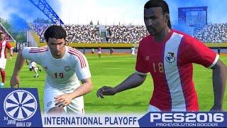 Panama vs. UAE - PES2016 - International Playoffs - 3rd Japan WCQ - 60fps