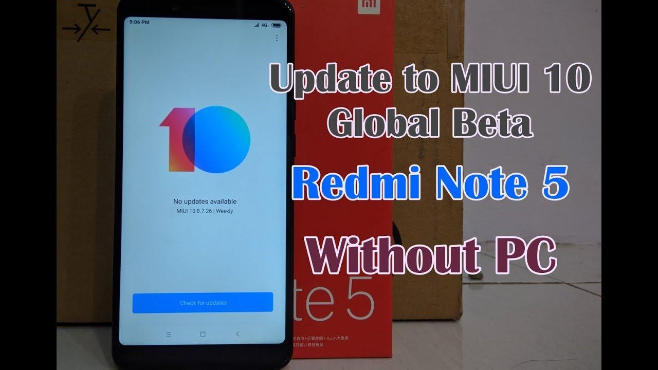 Mobile Info: Xiaomi Redmi 5 Reset