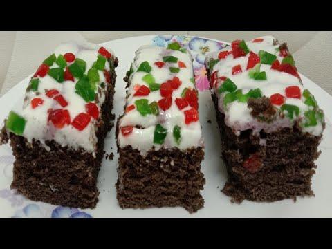 kek-sponge-coklat-/-chocolate-sponge-cake-(special-for-reaching-1000-subscribers)