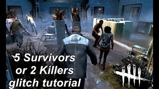 Dead By Daylight| How to 2 Killers glitch tutorial (outdated)