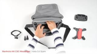 Manfrotto NX Messenger Camera Bag for CSC Grey
