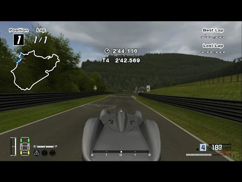 Gran Turismo 4 - Auto Union V16 Type C Streamline