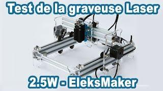 Présentation graveur laser Benbox Eleksmaker - Chez l'habitant Ep2