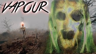 Vapour | INCREDIBLY SCARY | Indie Horror Game | Commentary/Face Caem Reaction