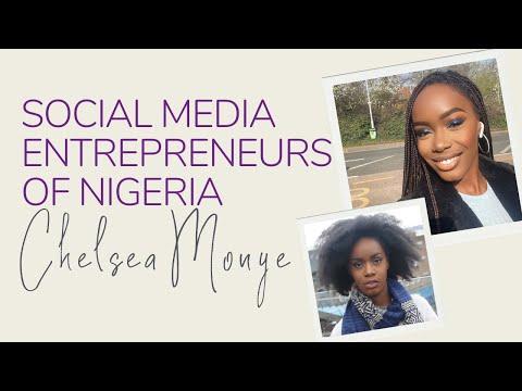 MEET CHELSEA MONYE - SOCIAL MEDIA ENTREPRENEURS OF NIGERIA | PAULA MELISSA