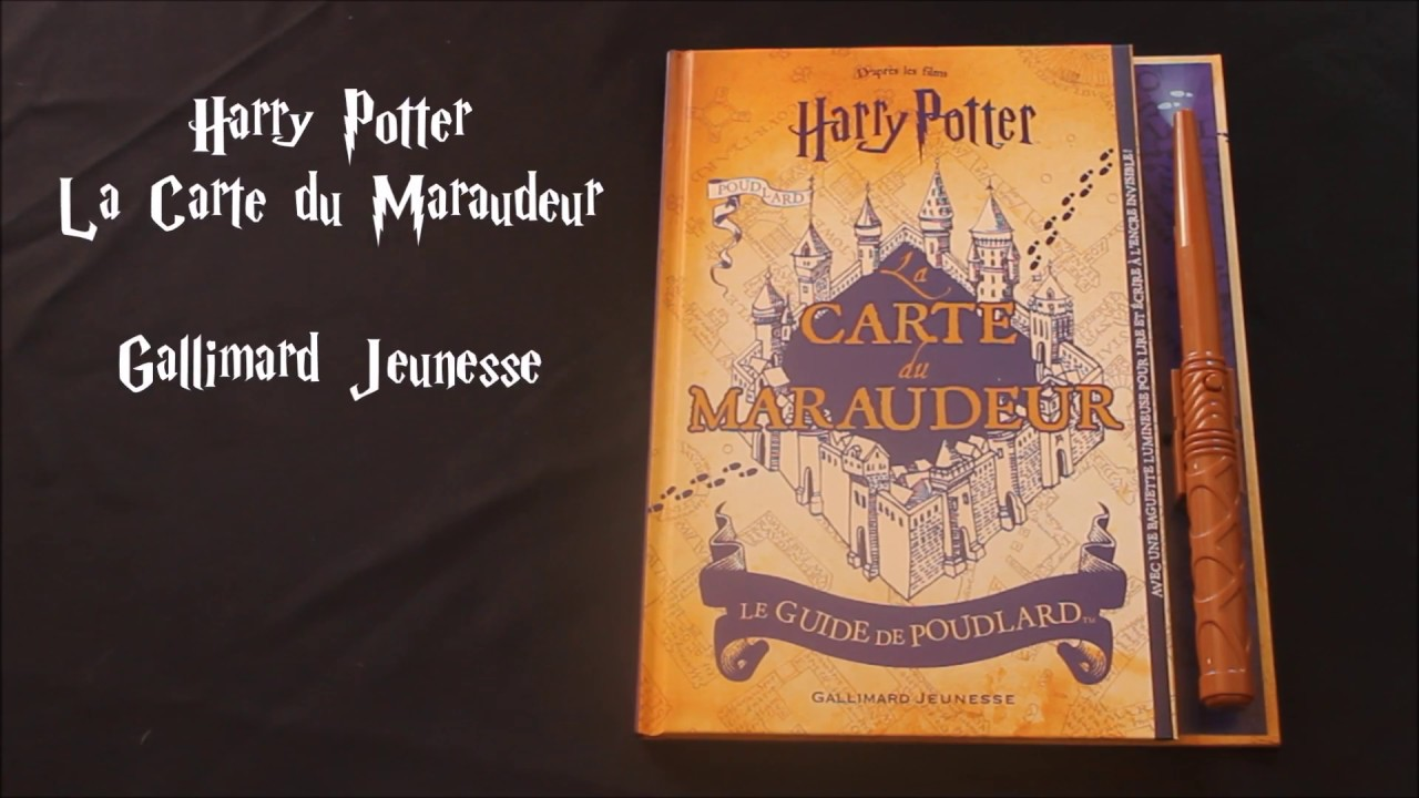 Harry Potter La Carte Du Maraudeur