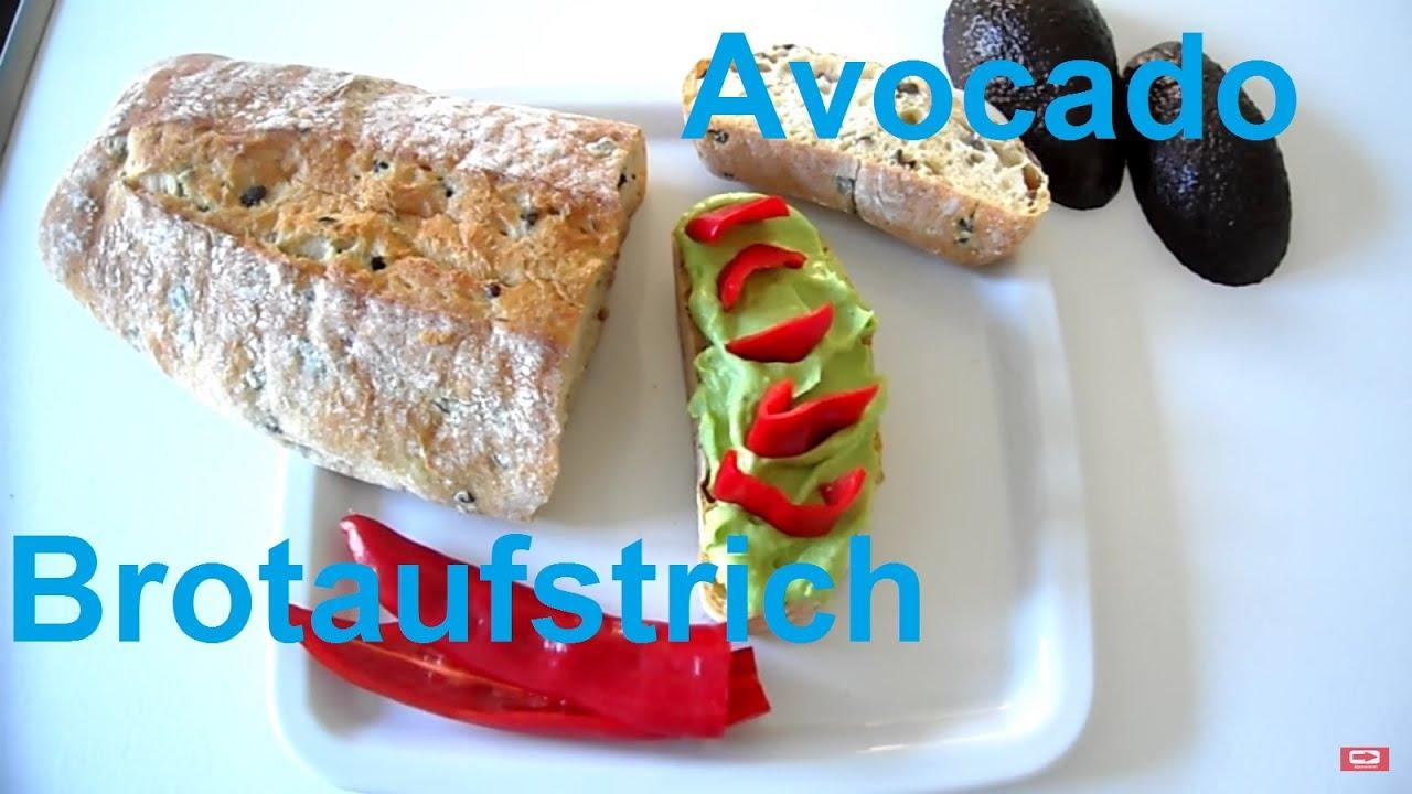 Veganer Avocado Brotaufstrich Selber Machen Guacamole Youtube