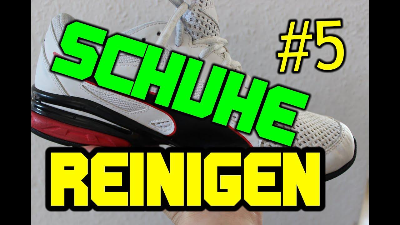 Sneaker Richtig Sauber Machen WEIßE SCHUHE WIEDER SAUBER BEKOMMEN #5