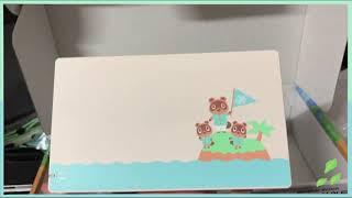 닌텐도 스위치 동물의숲 에디션 언박싱 (저퀄리티)